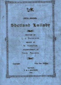 Shetlullaby